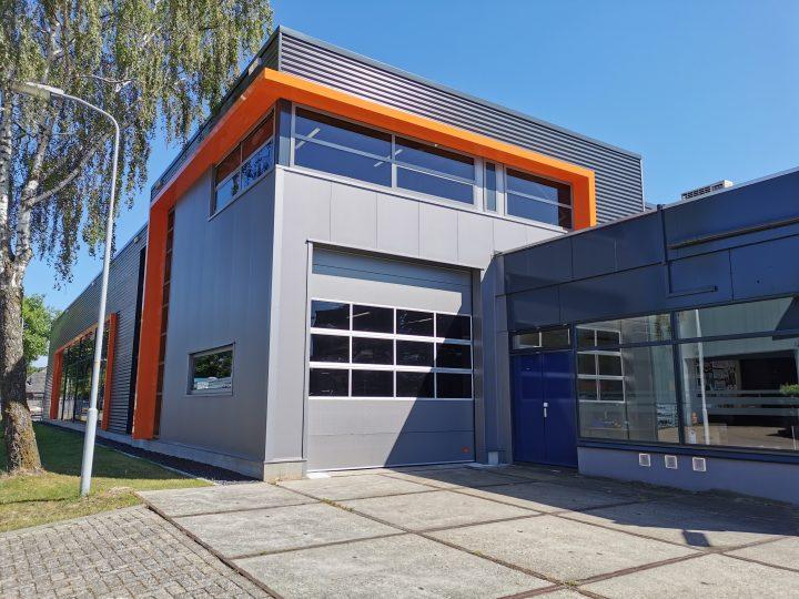 Neues Lager im Rolflex Gebäude