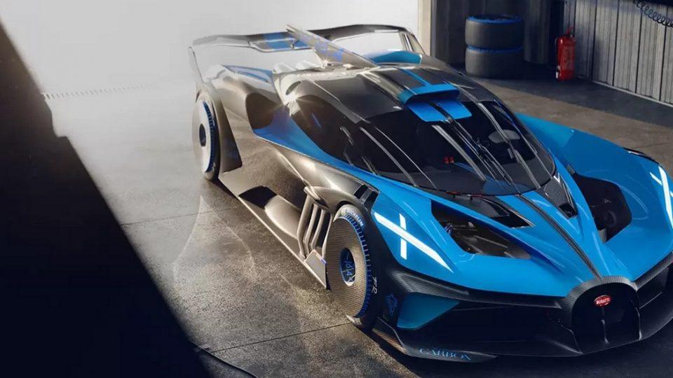 Bugatti Garage wird von Compact Tor verschlossen und vor unbefugtem Zutritt gesichert.