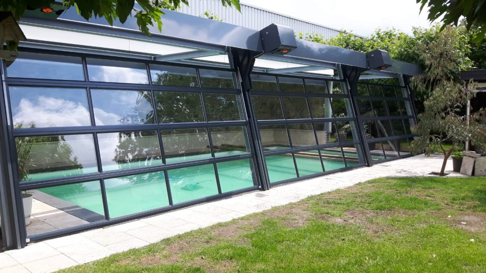 Pool mit Compact Toren - Außenmontage
