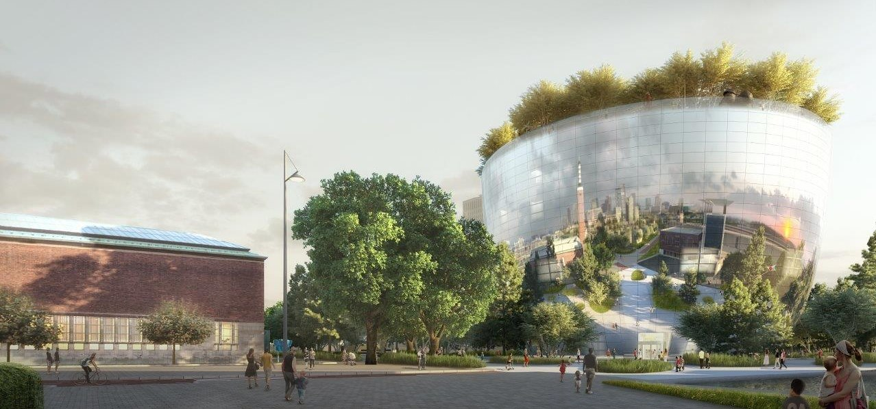 Architectenweb - Depot Boijmans van Beuningen - Copyright MVRDV