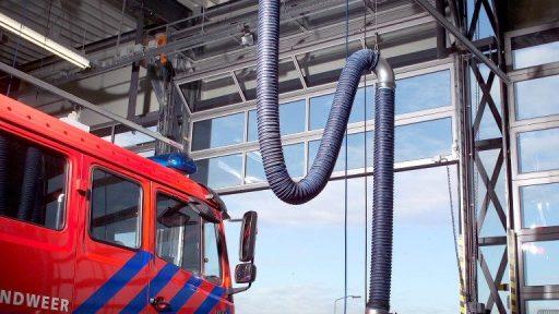Firestation Hoevelaken trusts the Compact door