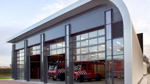 Firestation HOevelaken with Compact doors