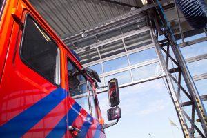 Brandweer hoevelaken Compact vouwdeur