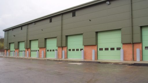 Catterick Garrison with Compact doors