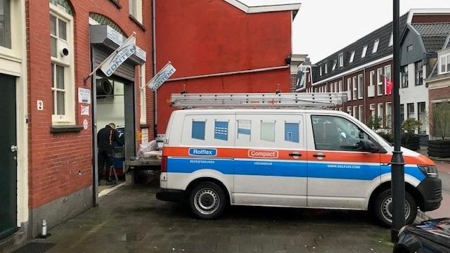 car garage in Haarlem