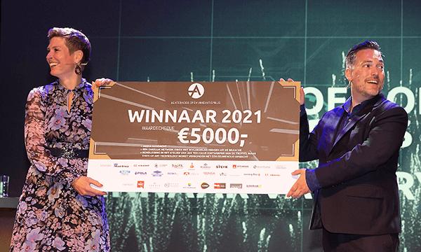 Winner of the Achterhoek Open Innovation award