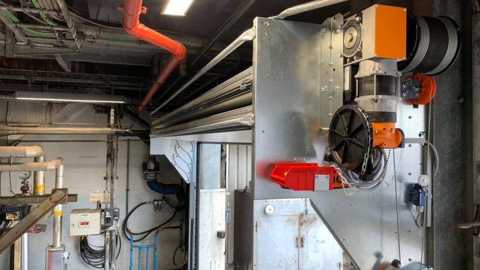 Compact door at Shell in Belgium