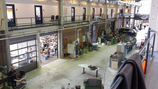 De TU Delft heeft voor hun Dreamhall gekozen voor Compact vouwdeuren