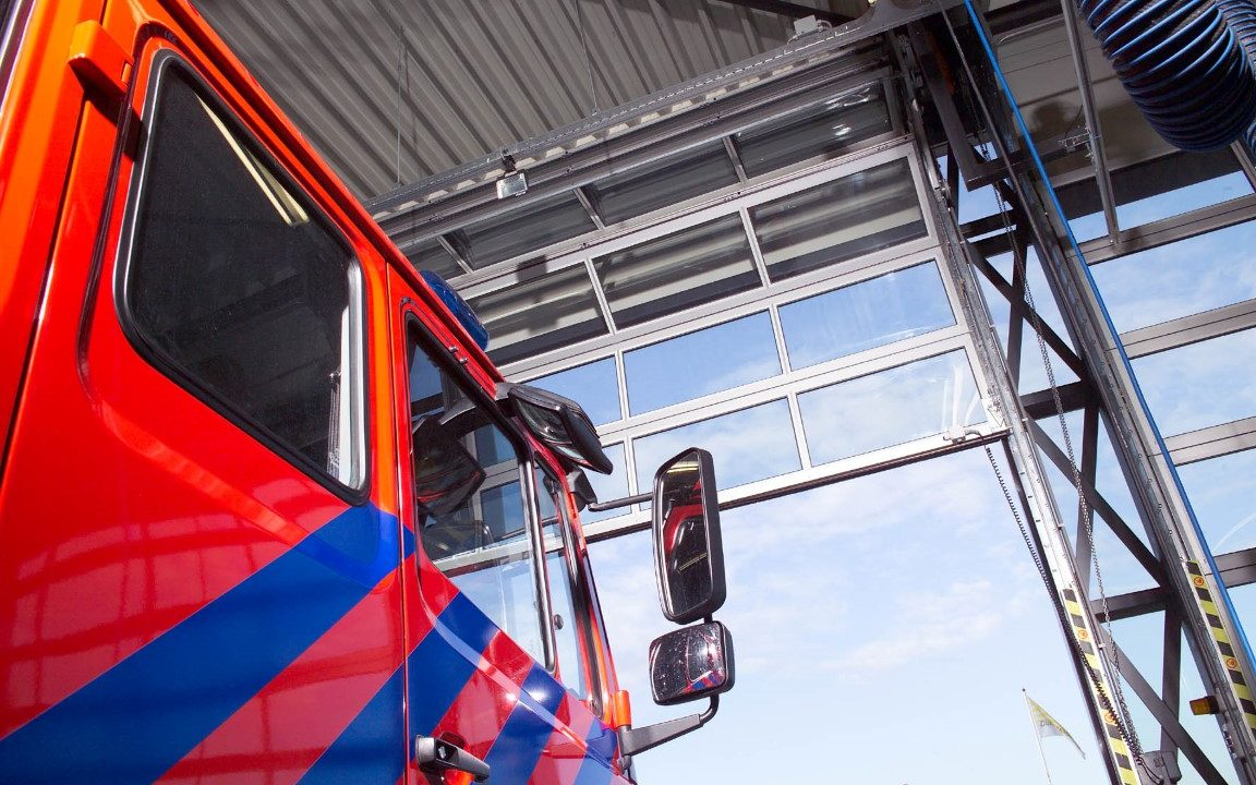 Portes Compact aux pompiers de Hoevelaken