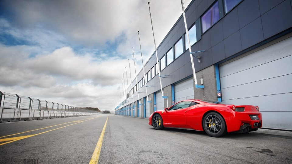 Circuit TT Assen Ferrari