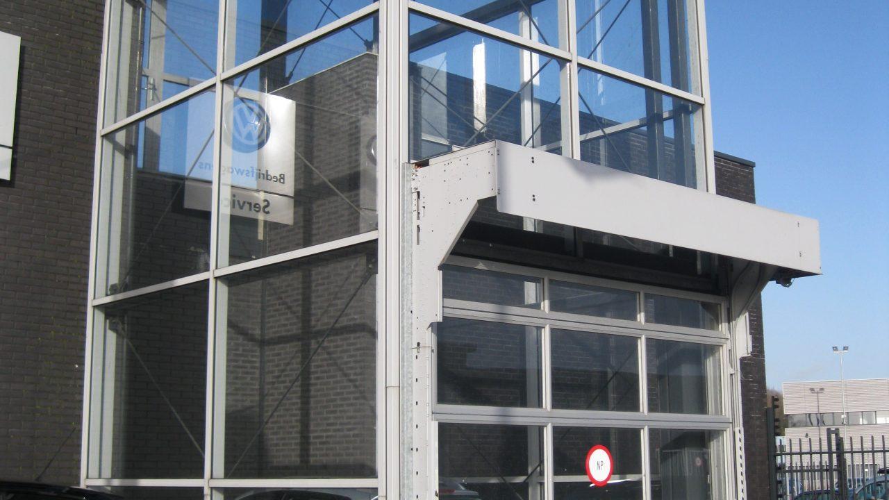 Ascenseur de voiture à Heron