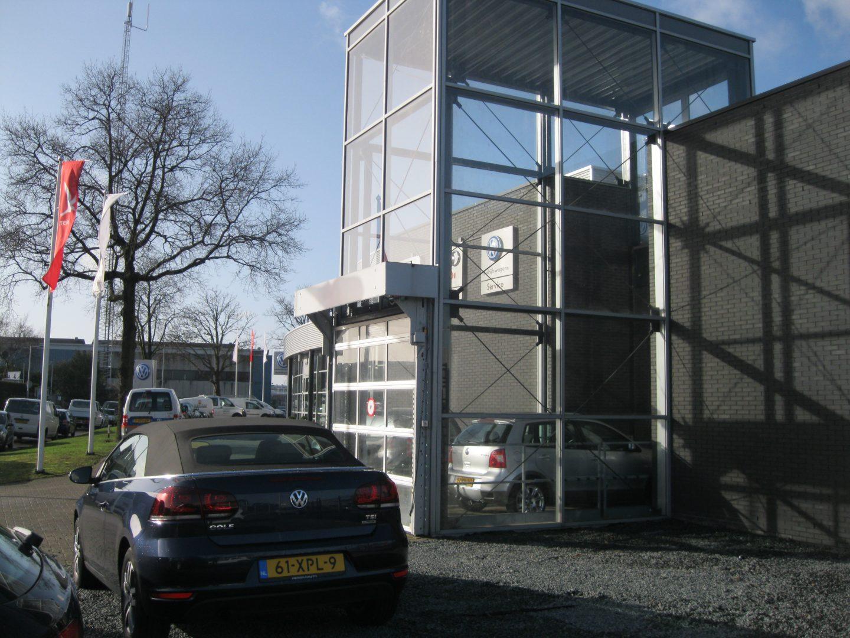 Ascenseur de voiture à Heron Amsterdam
