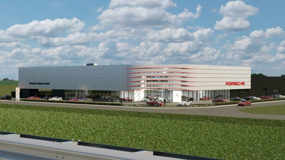 Nouveau Centre Porsche Twente à Deventer