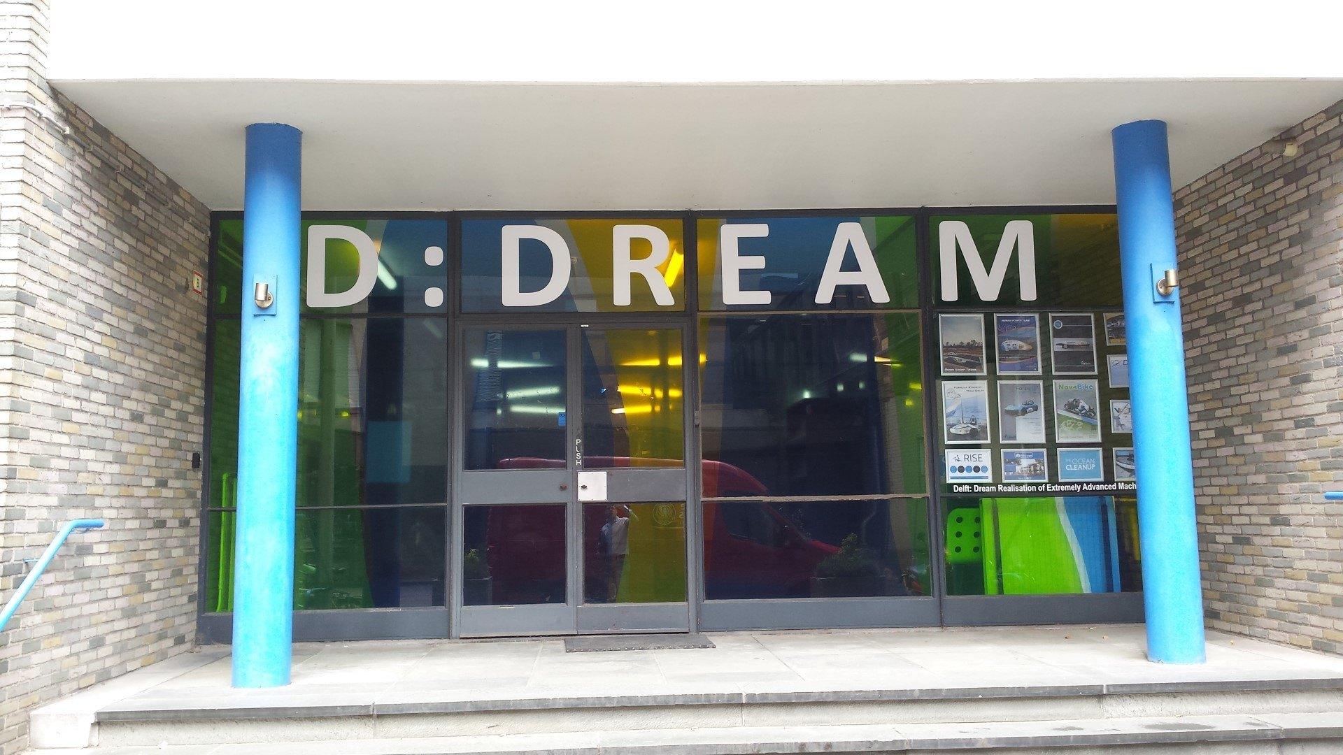 Compact deur voor de Dreamhall van de TU Delft