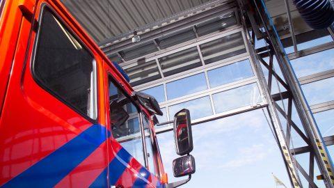 Meer ruimte voor brandweerwagens dankzij ruimtebesparende Compact deuren
