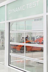 Full vision Compact deur bij McLaren