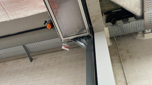 Portone Compact al deposito di Boijmans van Beuningen