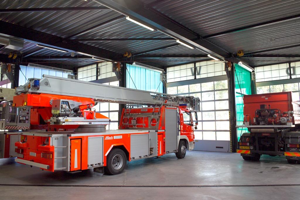 Brandweer Barneveld kiest voor Compact deuren