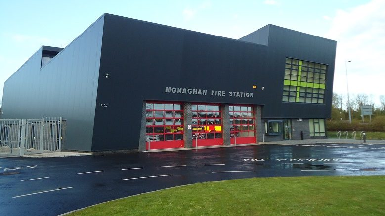 Monaghan fire station