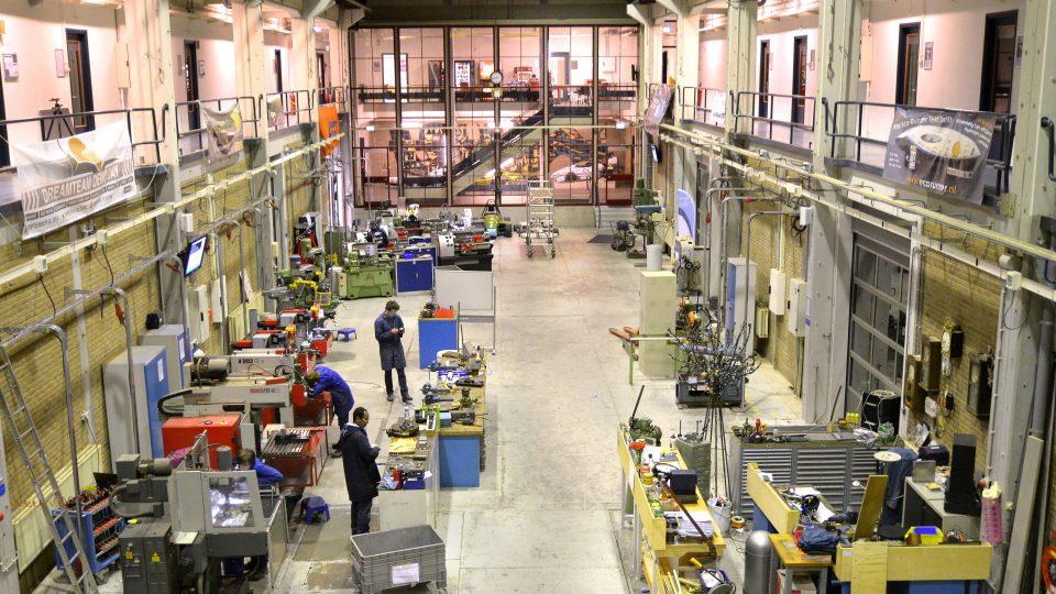 TU Delft werkplaats