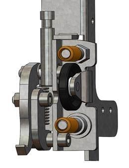 Voetconsole Compact deur