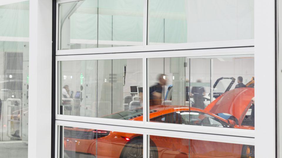 McLaren dynamisk test