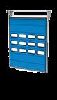 Compact Falthebetor mit Fenster